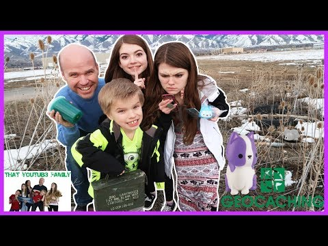 Squishy Geocaching / That YouTub3 Family