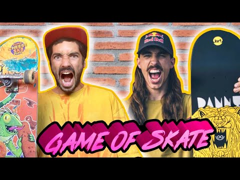 DANNY LEON VS SERGIO LUCEA ( game of skate )
