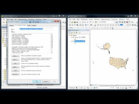 ArcGIS - Coordinate systems #4 - Biggest mistake!