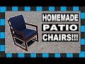 How To Build Outdoor Patio Chairs!!!