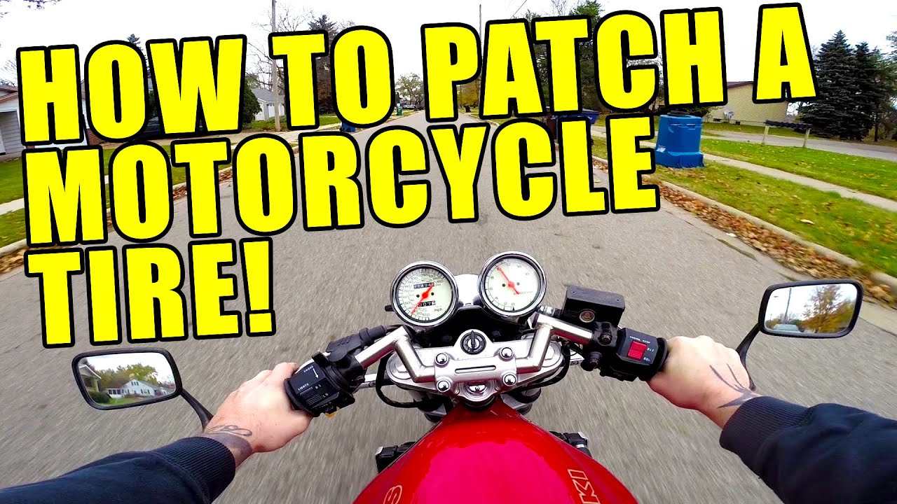 how to change a motorcycle tire youtube