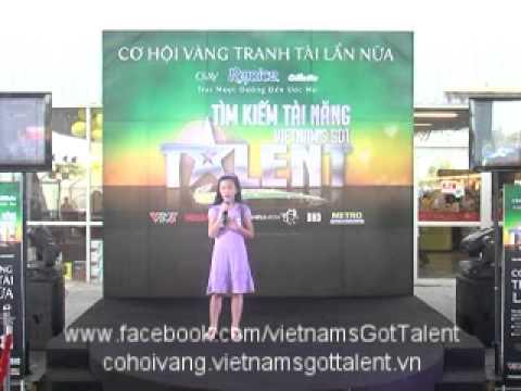 You raise me up  - Cơ hội vàng VietnamsGotTalent - Metro An Phú - HCM