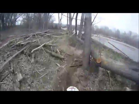 New Fountain Creek Tour Part 2 - Colorado Dirtbike Riding KTM with GoPro
