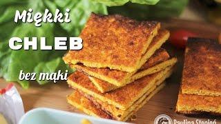 Dyniowy chleb bezglutenowy - jak zrobić zdrowe pieczywo | vegetable flatbreads
