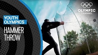 69 meters separate this hammer thrower from his YOG Dream! | Youth Olympic Games