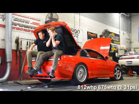 800+whp 300ZX TT Dyno Tuned @ Sound Performance