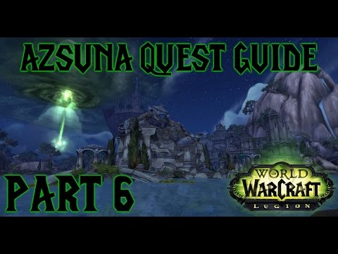 Legion - Azsuna Quest Guide - Part Six - Daglop and Mak'rana and the Fate of the Queen's Reprisal