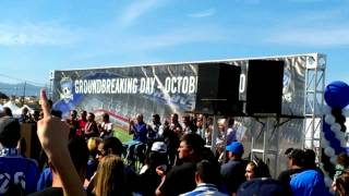 San Jose SJ Earthquakes Soccer Stadium Groundbreaking / Sun Oct 21 2012