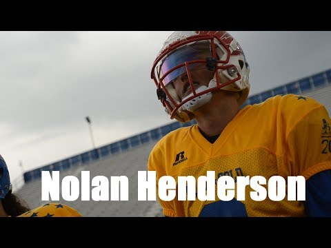 Nolan Henderson 2017 Blue- Gold Highlights! MUST SEE