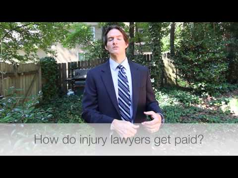 How do personal injury lawyers get paid? | Atlanta personal injury lawyer