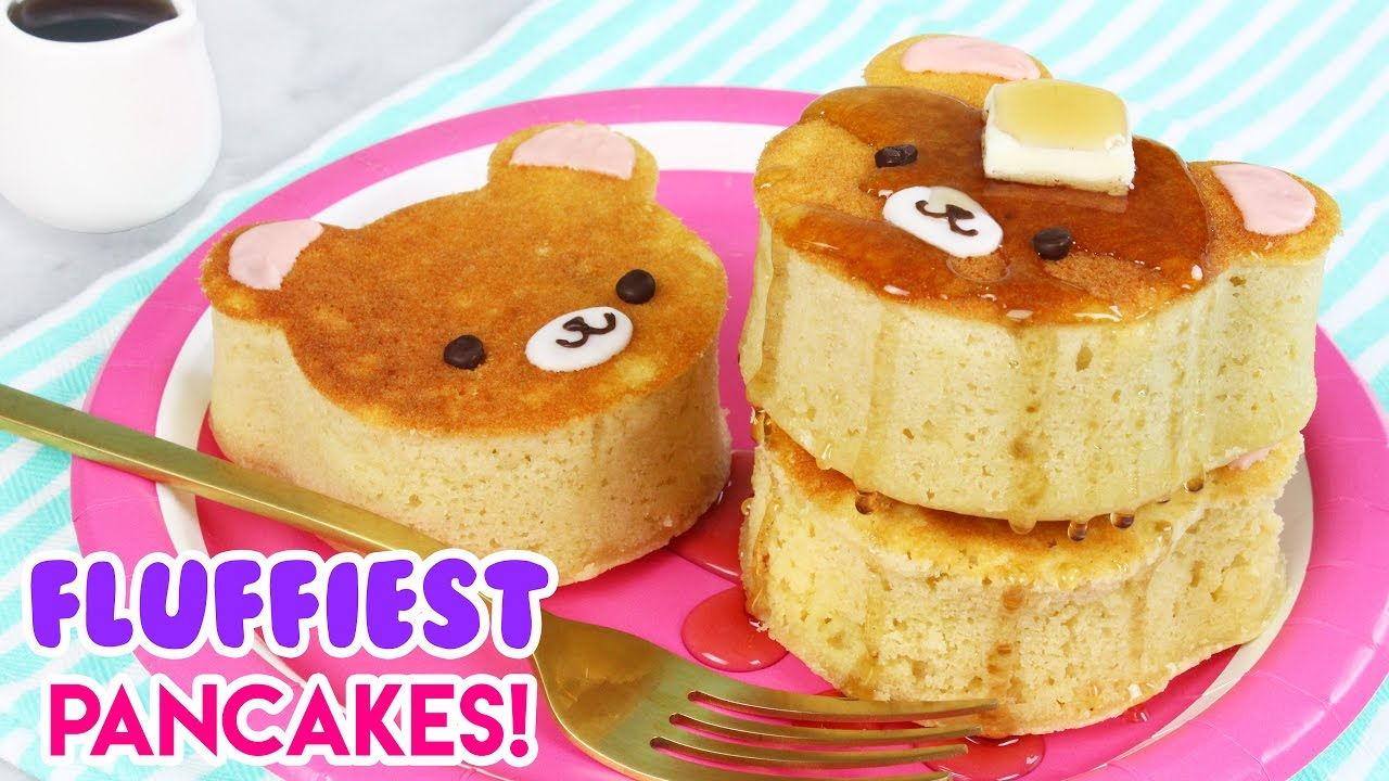How to make super fluffy japanese style bear pancakes youtube how to make super fluffy japanese style bear pancakes ccuart Images