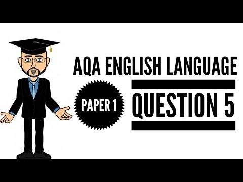 Varied & Inventive Use of Structural Features: 2017 English Language Paper 1 Question 5