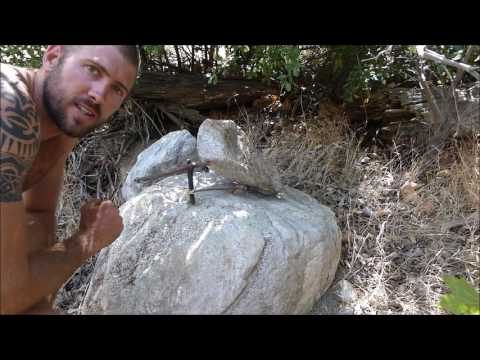 Solo survival with no tools - Bush Survival Training