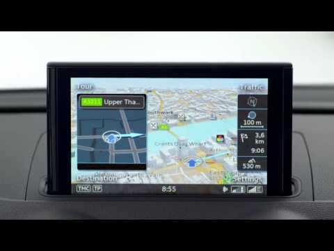 audi a3 mmi navigation plus youtube. Black Bedroom Furniture Sets. Home Design Ideas