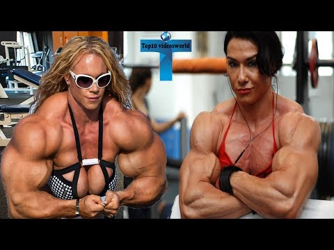 Female Bodybuilders With Biggest Arms Of All Time