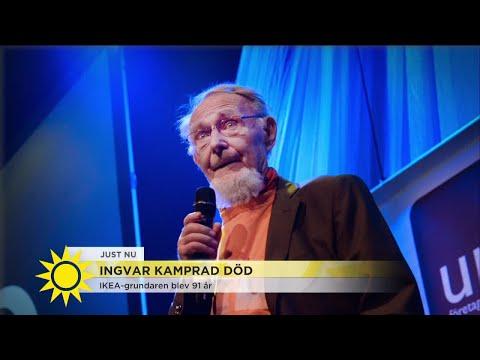 Ingvar Kamprad är död  - Nyhetsmorgon (TV4)