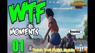 [Hài PUBG] TOP PUBG Funny Moments |Glitches, Bugs, Fails, Troll & Win Compilation #1