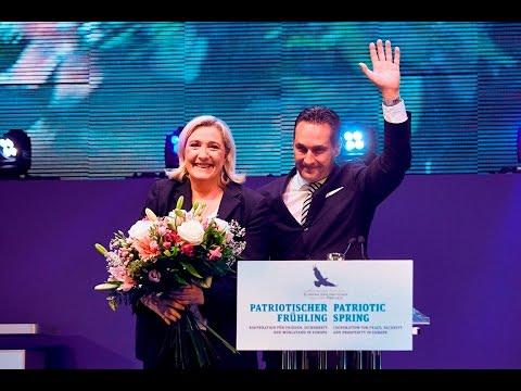 Patriotischer Frühling mit Marine Le Pen und HC Strache