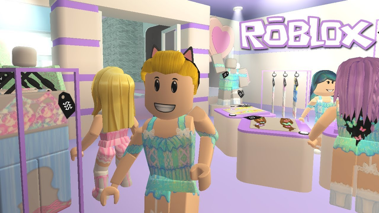 Update Roblox Grotty S Creator Mall Spring Theme Youtube