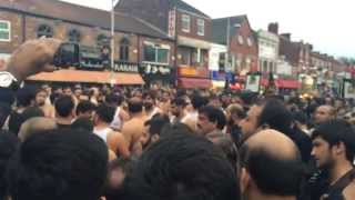 || Chalwal Party || Manchester || 8th Muharram Jaloos ||2/11/14 ||