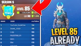 #1 Fortnite Player shares SECRET METHOD to Level up FAST in Fortnite! (Fortnite Level up Fast)