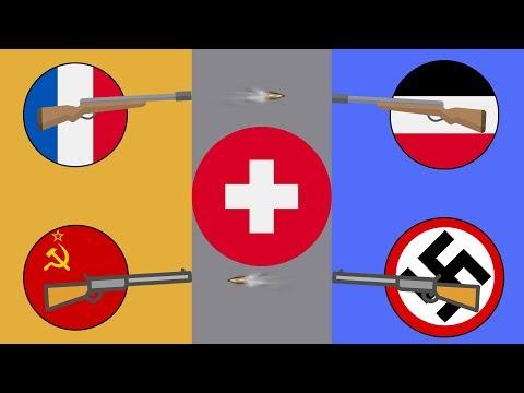 Почему на Швейцарию не нападали ?