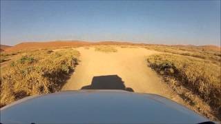 Last part in Sossusvlei 4x4 Namibia