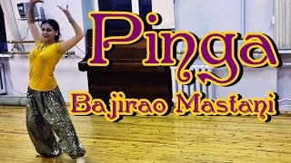 PINGA Song | Bajirao Mastani | DANCE by Anita