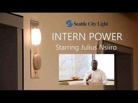 Seattle City Light - Intern Power with Julius Nsiiro