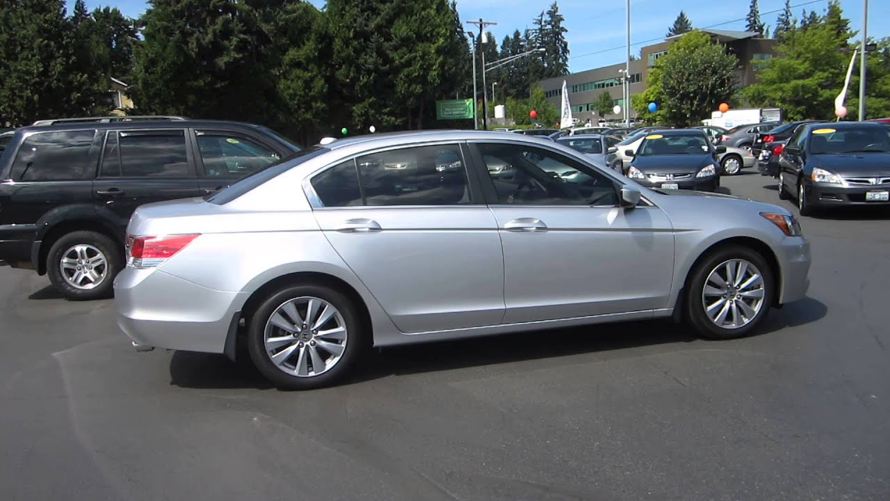 2011 Honda Accord Alabaster Silver Metallic Stock