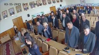 Сесія Глибоцької районної ради від 15 березня 2019