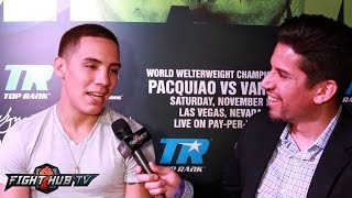 Oscar Valdez wants unification with Carl Frampton in future but focused on title defense w/Osawa