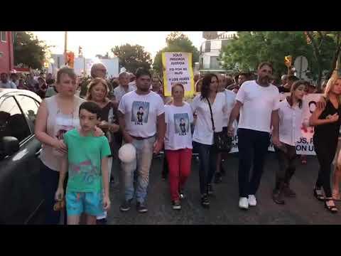 Rafaela salió a la calle para reclamar Justicia por Gonzalo Glaría