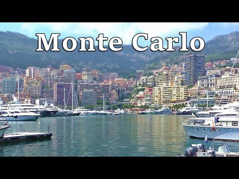 Monte Carlo, Monaco on A Beautiful Day