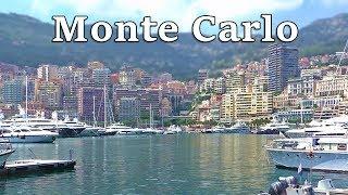 Monte Carlo, Monaco on A Beautiful Day