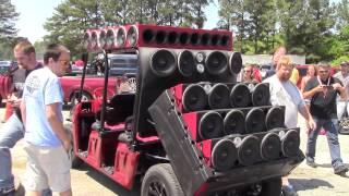 polaris with mclaren sounds vs prv audio portable cart