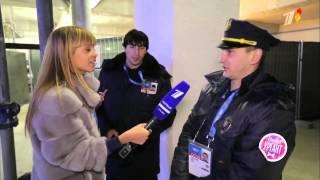 видео: Острыи репортаж с Аллои Михеевои   Сочи 2014  церемония открытия игр