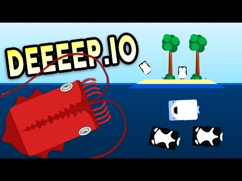 the-unstoppable-giant-squid!---deeeep.io-gameplay