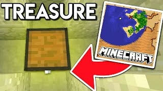 How to Find Buried Treasure in Minecraft / minecraft