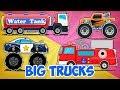 Big Trucks | Monster Truck Videos For Children by Kids Channel