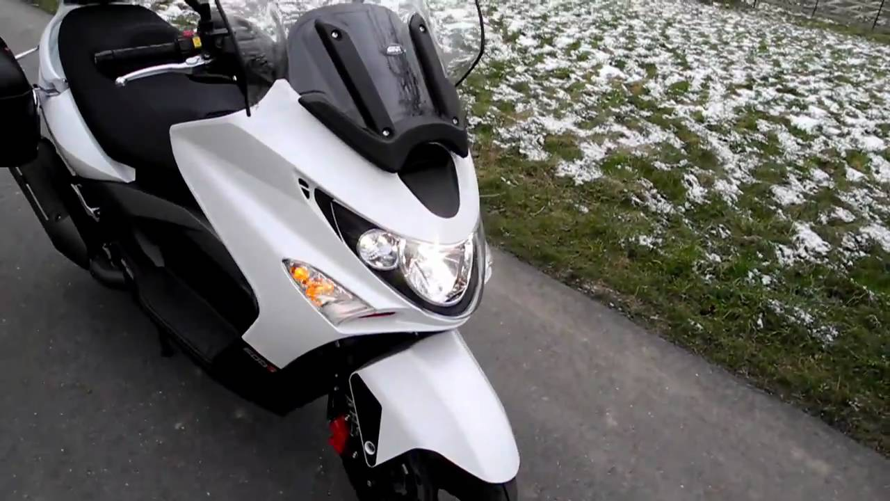 kymco xciting 500 i r abs gro roller maxiscooter youtube. Black Bedroom Furniture Sets. Home Design Ideas