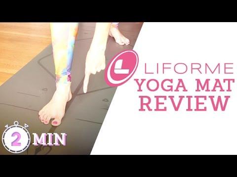 Liforme Yoga Mat Review | Best Yoga Mats | Alignment Lines!