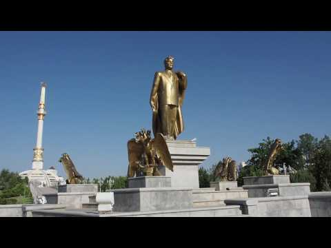 Ashgabat - Designed by a Dictator