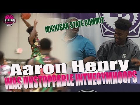 Michigan State Commit Aaron Henry was Absolutely Unstoppable at Inthegymhoops Showcase