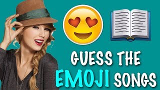 EMOJI CHALLENGE ★ Guess the Taylor Swift Songs