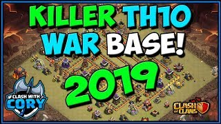 BEST of CWL INVITE Th10 WAR BASE! week 2 | New Town Hall 10 War Base | Clash of Clans