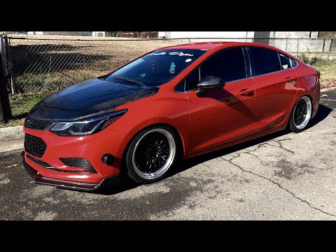 NEW CARBON FIBER STYLE Lip For The Cruze !!
