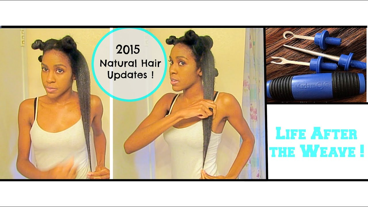 Natural Hair After The Weave Detangle Deep Condition Length