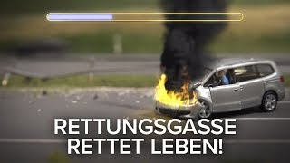 Neue Version: Rettungsgasse rettet Leben! thumbnail