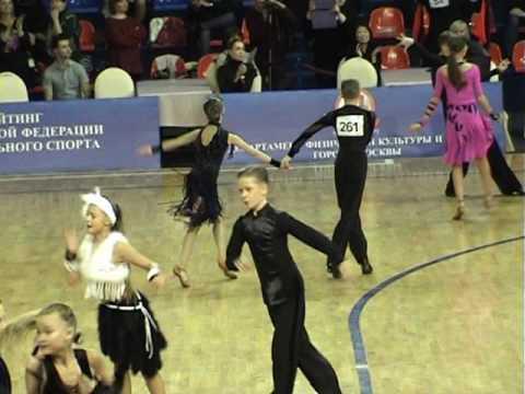 Anton Shagaev & Elizaveta Popova, ChaCha, Final, Junior I Open Latin, Moscow Championship - 2016